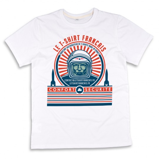 T-shirt made in France logo