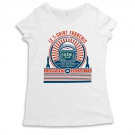 Le T-shirt français confort & sécurité.T-shirt femme