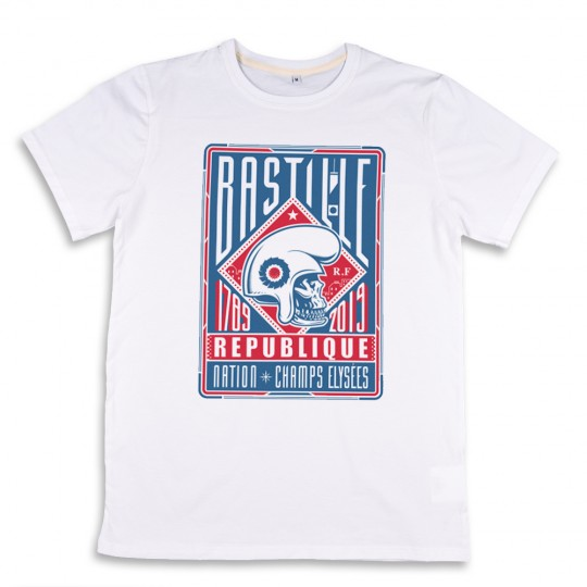 T-shirt made in France Bastille
