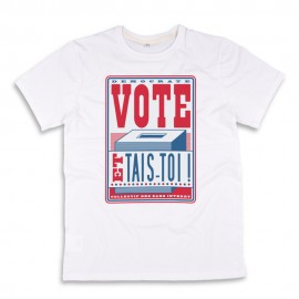 Vote! T-shirt made in France bio