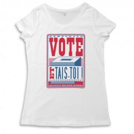 Vote! T-s femme coton biologique